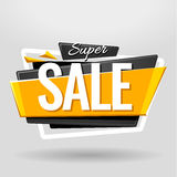 Sale Geometric Banner Royalty Free Stock Photography