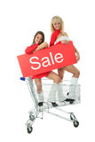 Sale girls Stock Images