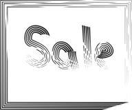 Sale gränsillustration Arkivbild