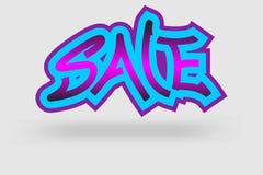 Sale graffiti Royalty Free Stock Photos