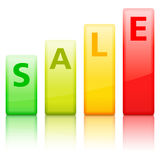 Sale Graph Stock Photos