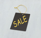 Sale gray tag Stock Photos