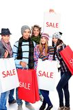 Sale group Royalty Free Stock Image