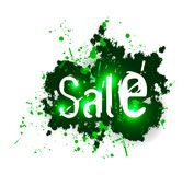 Sale grunge background Royalty Free Stock Images