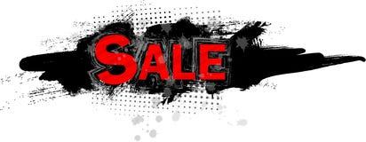 Sale Grungy Style Illustration Stock Photo