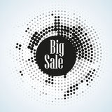 Sale halftone abstract Illustration for your business artwork. vector illustration