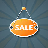 Sale hanging sign Royalty Free Stock Photos