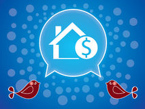 Sale home image Royalty Free Stock Image