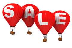SALE - Hot air balloons Stock Photo