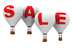 SALE - Hot air balloons Royalty Free Stock Photo