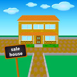 Sale house Stock Images