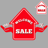 Sale house Stock Photography