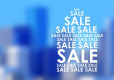 The sale of housing in the big city Stock Images