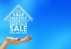 The sale of housing Stock Images