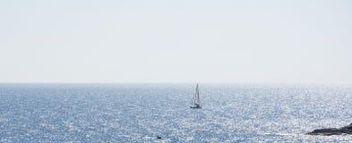 Sale i ett hav Royaltyfri Fotografi