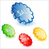 Sale icon. Vector illustration of beautiful sale icon design Royalty Free Stock Photo