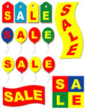 Sale icon/banner set Royalty Free Stock Images