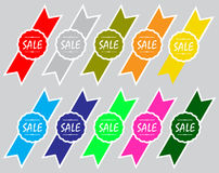 Sale Icon Collection Stock Photo