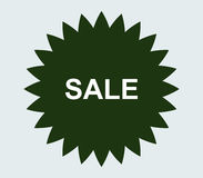 Sale icon illustrated. On a white background Stock Photography