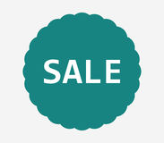 Sale icon illustrated. On a white background Stock Photos