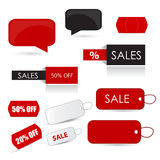 Sale icon set Stock Photography