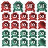 Sale icon set Royalty Free Stock Images