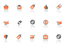 Sale icons Stock Image