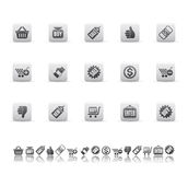 Sale icons Royalty Free Stock Photo