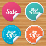 Sale icons. Best special offer symbols. Stock Photo