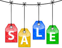 Sale icons Stock Images