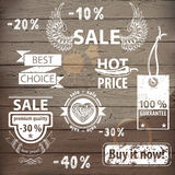 Sale icons Royalty Free Stock Photography