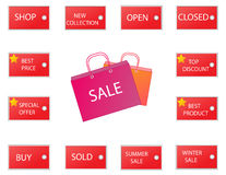 Sale icons 2 Stock Photo
