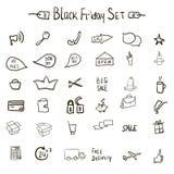 Sale icons theme ΠRoyalty Free Stock Photos