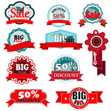 Sale icons Stock Photos
