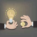 Sale ideas Stock Image