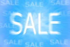 Sale illustration. Illustration of word sale presenting discounts Royalty Free Stock Photos