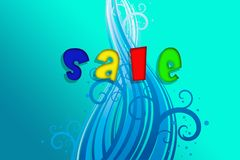 Sale. illustration Royalty Free Stock Image
