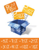Sale illustration Royalty Free Stock Photo