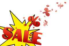 Sale illustration Stock Photography