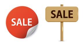 Sale. Illustration of sale sign design Stock Photography