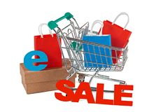 Free Sale In The Internet Shop Stock Photography - 102882602