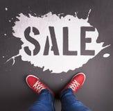 Sale inscription Stock Photo