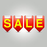 Sale Interesting User Interface. Royalty Free Stock Image