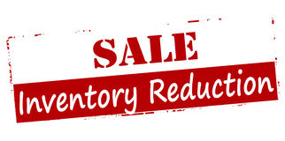 Sale inventory reduction vector illustration
