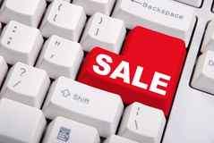 Sale Key Royalty Free Stock Images