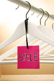 Sale label. Colorful creative sale label concept Royalty Free Stock Image