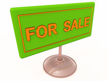 For sale label Stock Image
