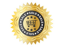 Sale label Stock Images
