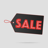 Sale Label Black Royalty Free Stock Photography