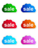 Sale label Stock Photo